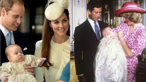 Królewskie chrzty. Zobaczcie, jak wyglądały chrzty: księcia Jerzego, Williama, księcia Karola