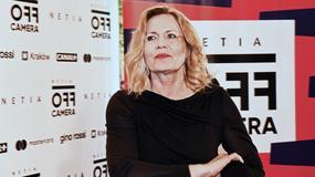 Grażyna Szapołowska cała w czerni na Festiwalu Off Camera