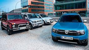 Dacia Duster kontra Łada Niva, Suzuki Jimny i Suzuki SX4: porównujemy najtańsze 4x4 na rynku