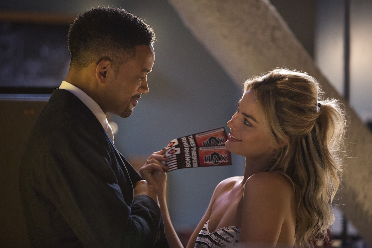Margot Robbie i Will Smith w filmie