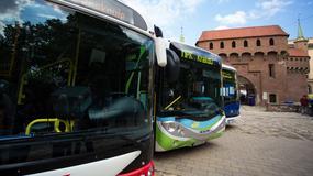 Elektryczne autobusy już kursują w Krakowie
