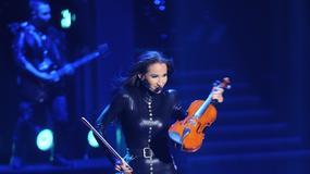 Wściekła Steczkowska roztrzaskała skrzypce na scenie