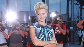 Małgorzata Kożuchowska na prezentacji ramówki  TVP - najlepsza stylizacja wieczoru!