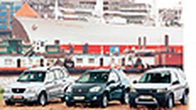 Land Rover Freelander, Suzuki Grand  Vitara, Toyota RAV4 - Dużo wolności za małą kasę