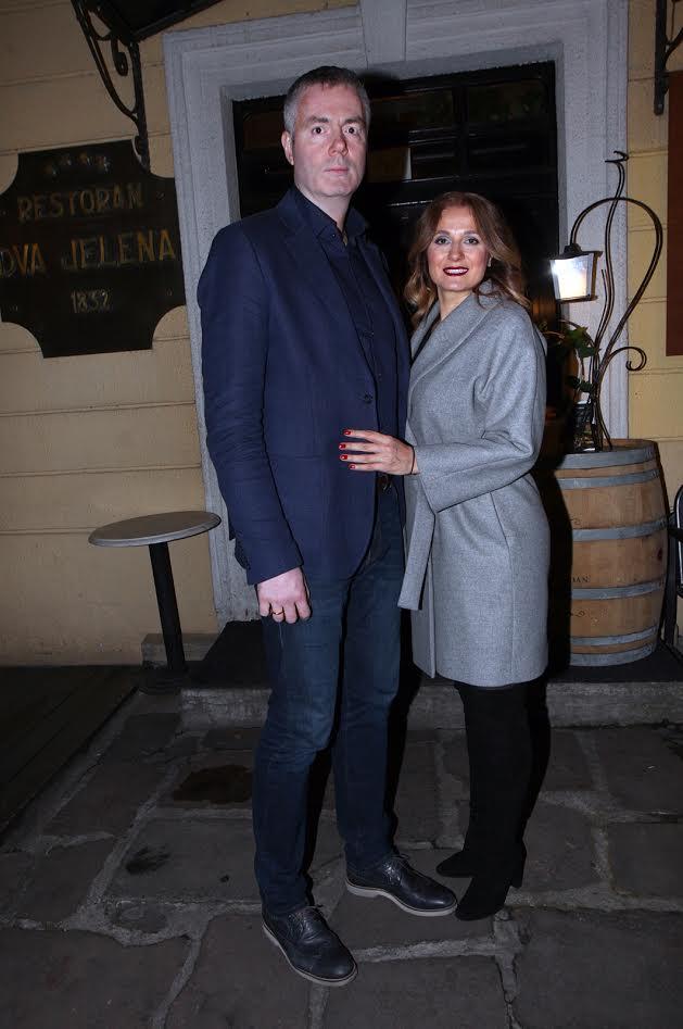 Dejan Tomašević sa suprugom