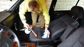 Zrób sobie trąbę powietrzną i wyczyść tapicerkę auta