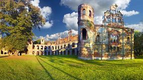 Zamek w Tworkowie - fantazyjna ruina pod Raciborzem