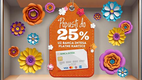 Popust koji ne smete da propustite, foto: ustupljena fotografija: Banca Intesa