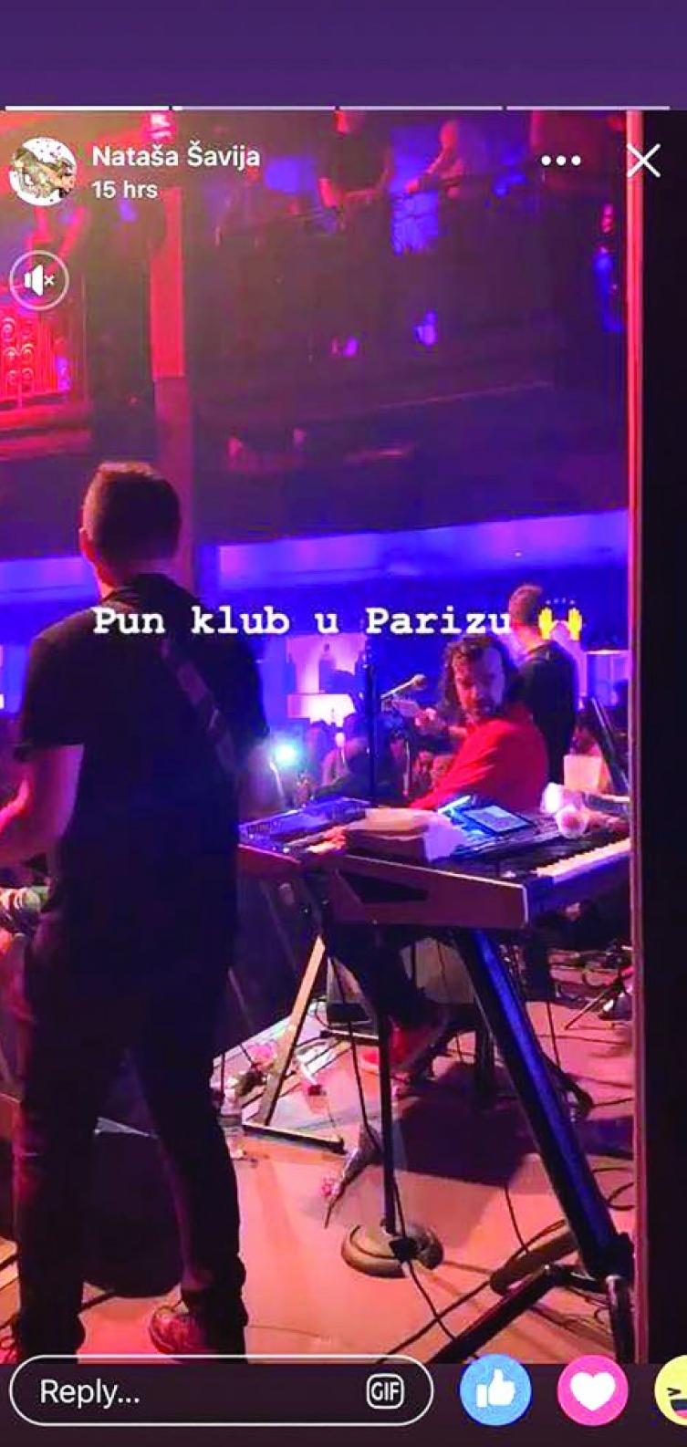 Šavija na Lukasovom nastupu u Parizu!