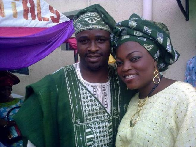 Femi Adebayo Funke Akindele wedding