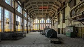 Opuszczona secesyjna Elektrownia Karola Scheiblera w Łodzi