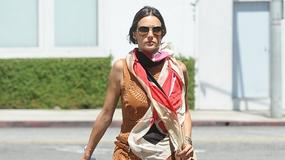 Alessandra Ambrosio zachwyca stylizacją
