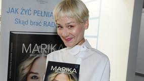 Marika pierwszy raz w krótkich włosach