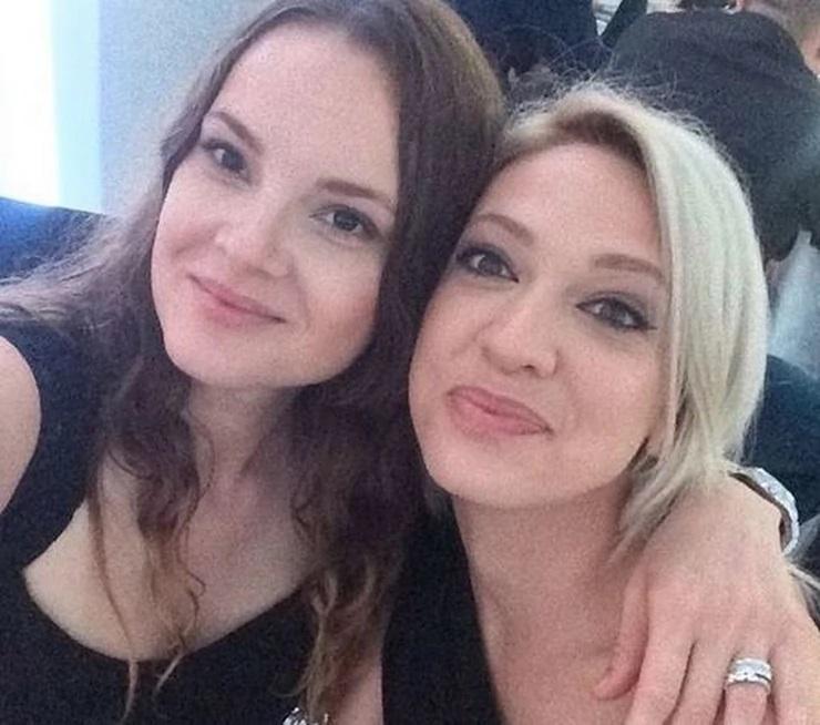 Milica Todorović i Slavica Ćukteraš