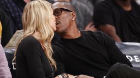 Eddie Murphy całuje swoją nową dziewczynę