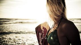 Susanne Mai - piękna kitesurferka