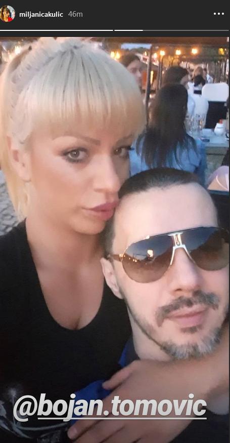Miljana Kulić i Bojan Tomović