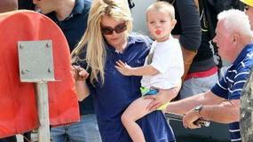 Britney Spears na wakacjach