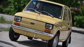 Prawdziwy rarytas - Fiat 126p w stanie idealnym