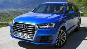 Nowe Audi Q7 - pierwsza jazda flagowym SUV-em
