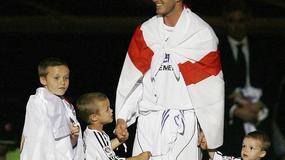 Gwiazdy piłki nożnej w ojcowskiej roli