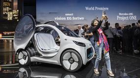 IAA Frankfurt 2017: Smart vision EQ fortwo przedstawia nową wizję miejskiej mobilności