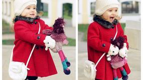 Zimowe stylizacje małych fashionistek