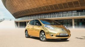 Złoty Nissan Leaf dla medalistów w Rio
