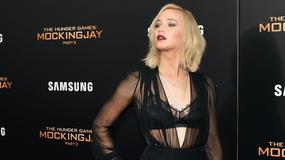 """Jennifer Lawrence w odważnej kreacji na premierze filmu """"Igrzyska śmierci: Kosogłos. Część 2"""""""