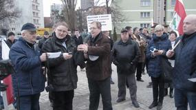 Protest rolników z Trójmiasta