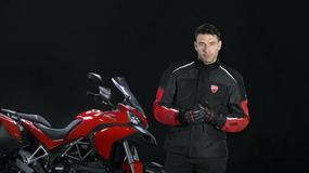 Ducati i kurtka z poduszką powietrzną