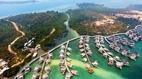 Funtasy Island - na wyspach niedaleko Singapuru powstaje olbrzymi eko-kurort