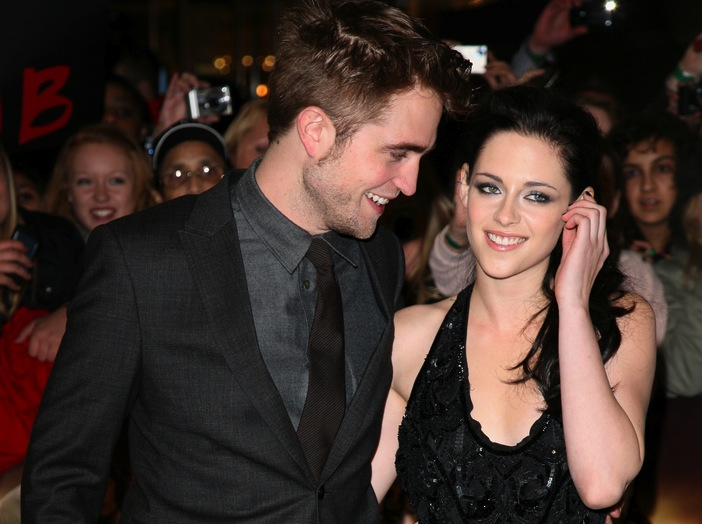 Robert Pattinson i Kristen Stewart