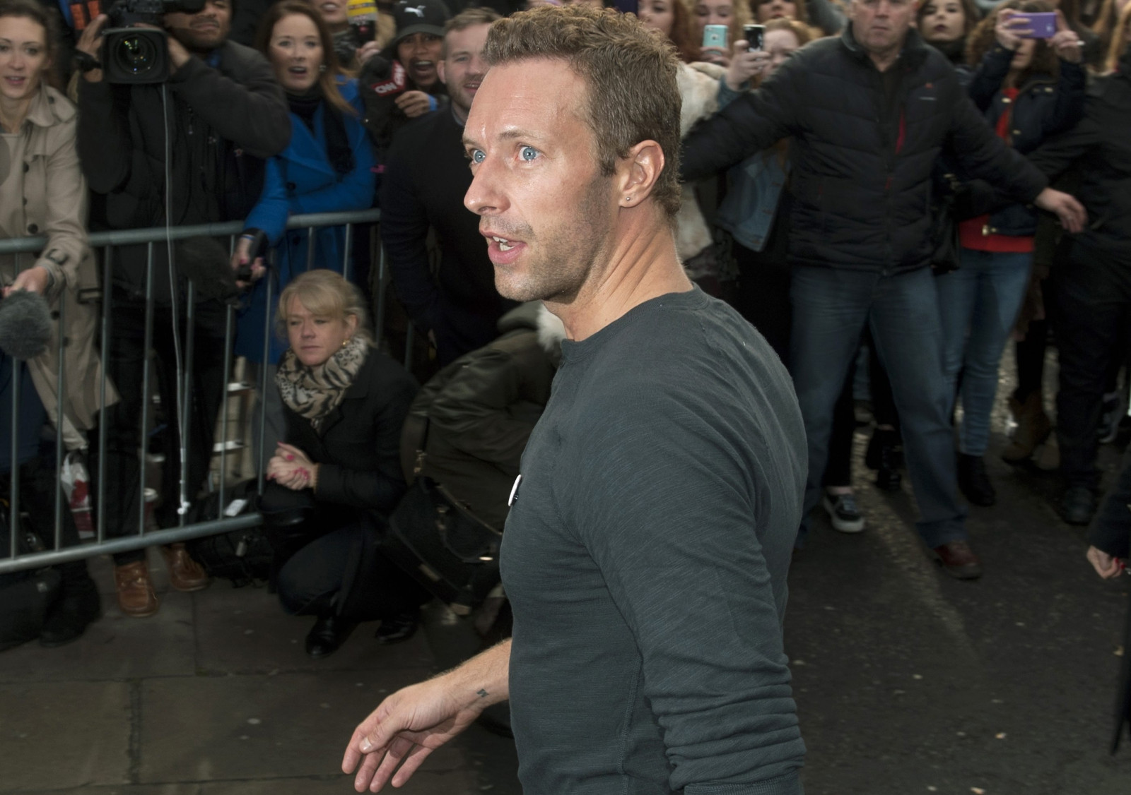 Chris Martin zaśpiewał z Band Aid 30