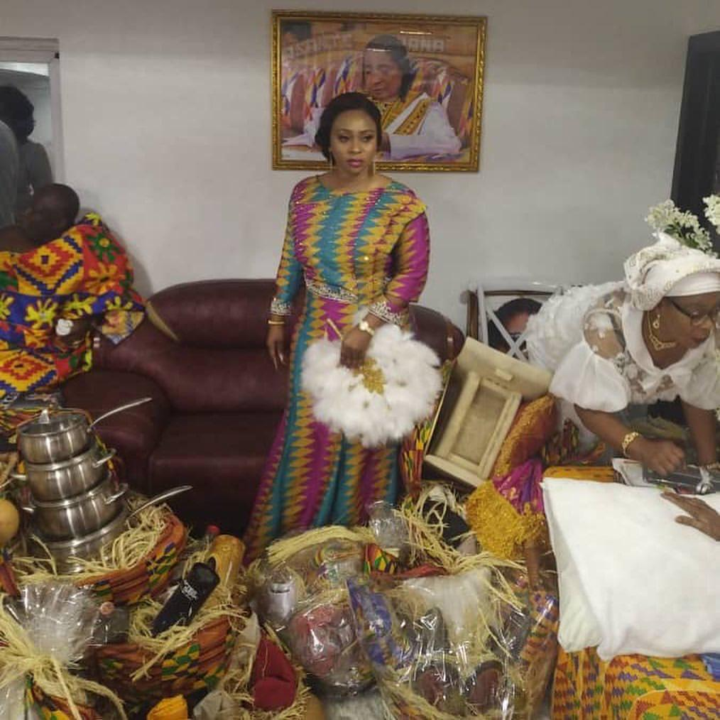 Image result for gifts that Adwoa Safo's husband presented her