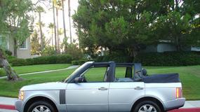 Range Rover jako kabriolet