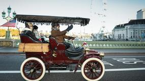 Rajd samochodów sprzed ponad 100 lat