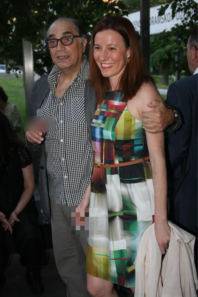 Voja Brajović i Milica Mihajlović