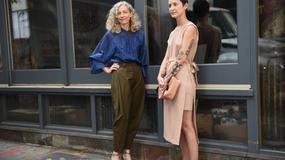 Street style na Tygodniu Mody w Nowym Jorku