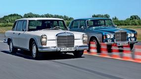 Mercedes 600 kontra Rolls-Royce Silver Shadow - supertechnika czy wyższe sfery?