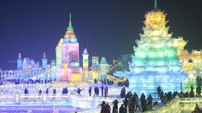 Bajkowy Festiwal Śniegu i Lodu w Chinach [GALERIA]