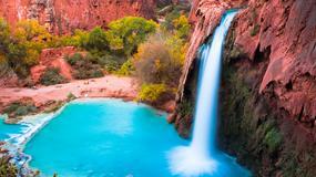Wodospad Havasu - oaza Wielkiego Kanionu Kolorado