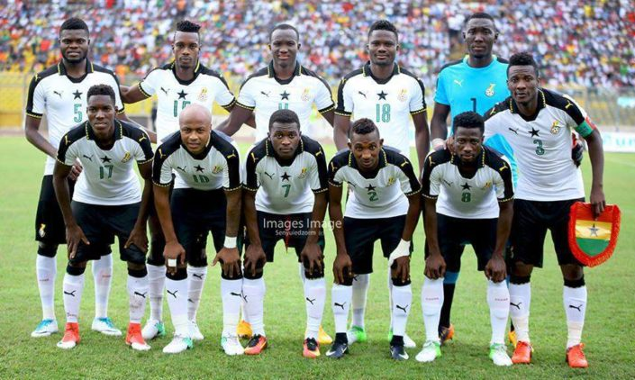 new arrivals def34 7fa64 Black Stars jersey numbers for AFCON 2019 revealed - Pulse Ghana