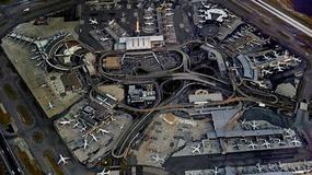 Nowy Jork - lotnisko JFK z lotu ptaka