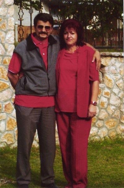 Zorica sa suprugom Zvonkom Rebernikom: upoznao ju je kao ženu koja samo nosi crvenu i takvu ju je zavoleo