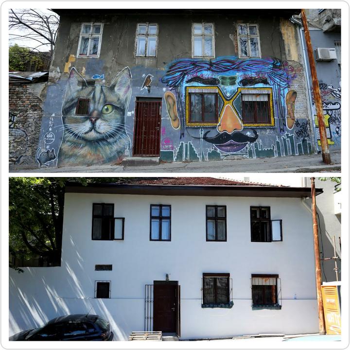 Serbia belgrad city presentation page 94 for Mural u vukovarskoj ulici