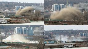 PODRHTAVANJE TLA I OBLAK PRAŠINE Ovako je izgledala deaktivacija BOMBE OD POLA TONE u Beogradu