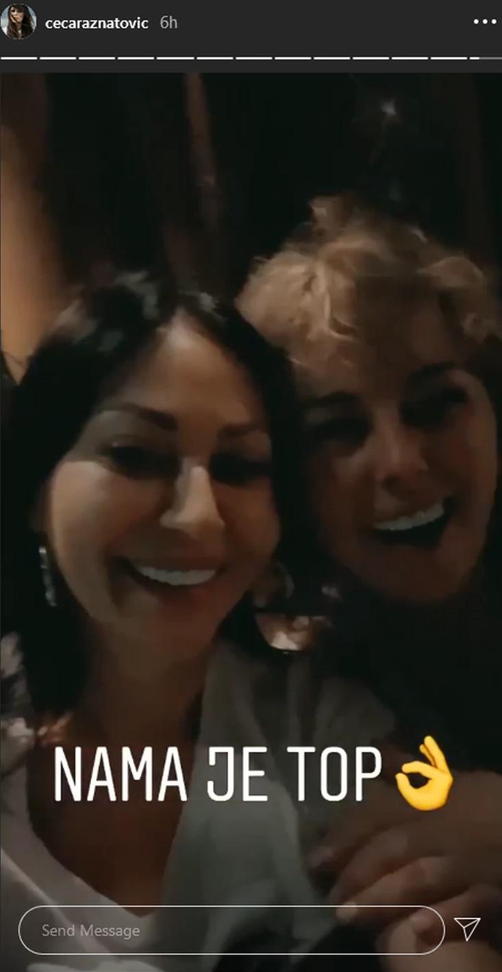 Ceca se do jutra veselila sa Bogdaninom majkom u Titelu: Prije zapevale zajedno, ovako je gorelo na proslavi povodom Željkovog rođenja! (VIDEO)