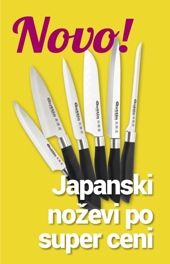 Vrhunski japanski profesionalni noževi, oštri kao samurajski mač