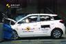 Hyundai i20 przy prędkości 64 km/h